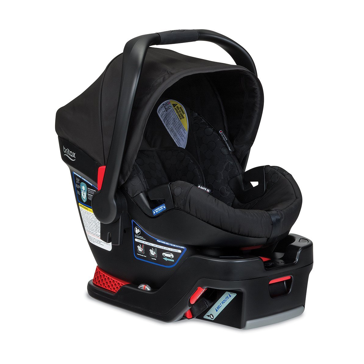 Britax B-Safe 35 Vs. Chicco KeyFit 30: Infant Car Seat And