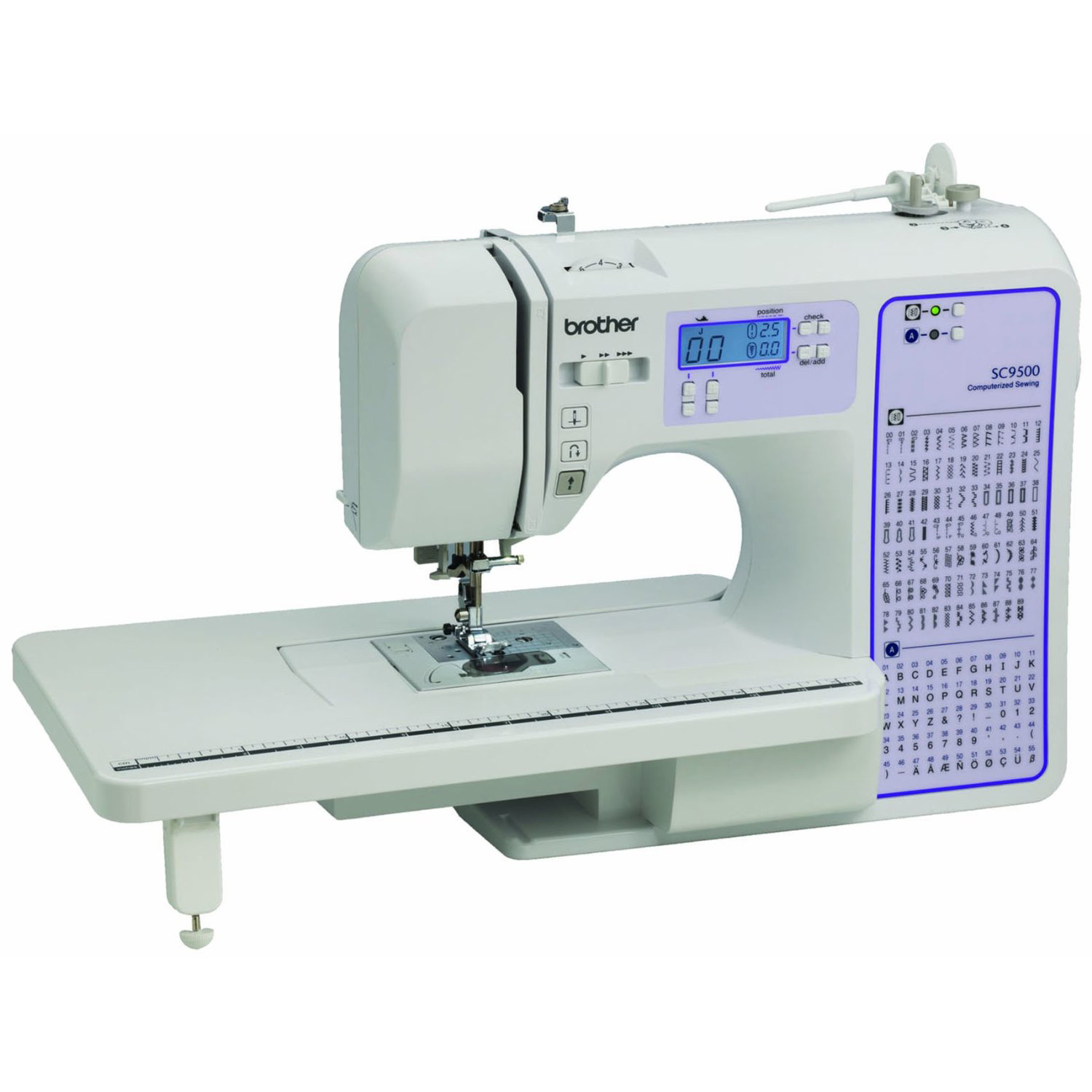 brother xr9500prw vs brother sc9500 two great brother sewing machine models to consider. Black Bedroom Furniture Sets. Home Design Ideas