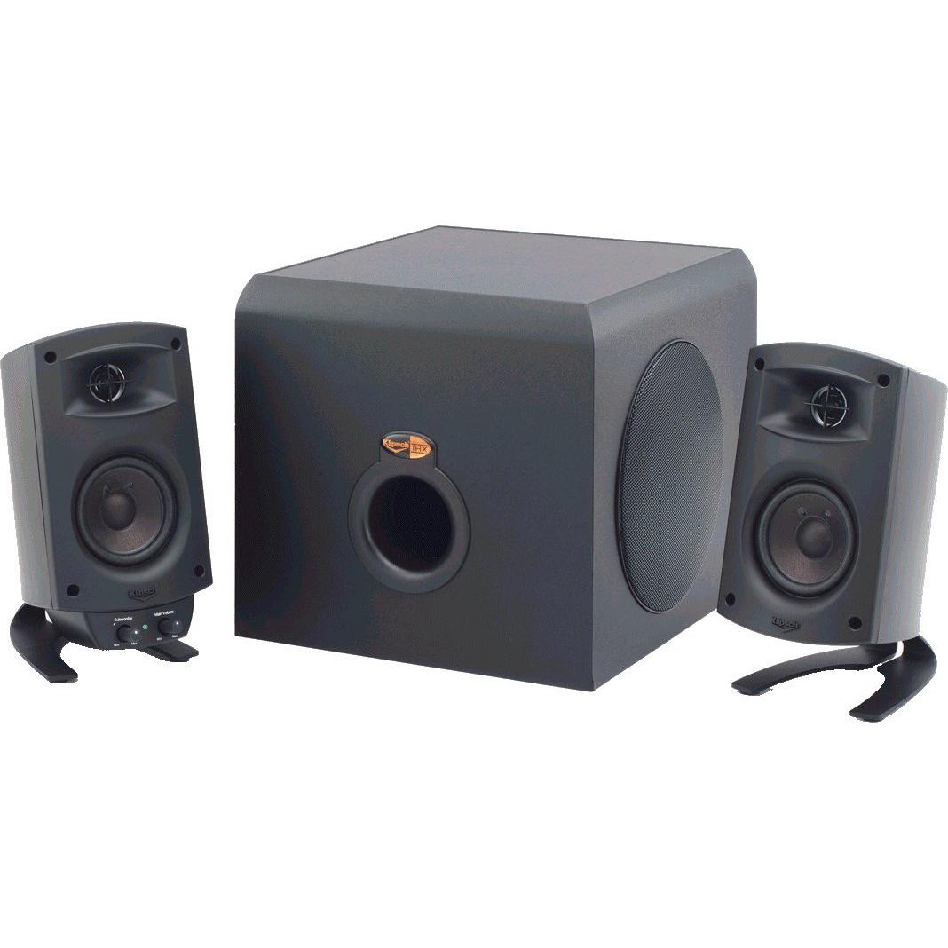 logitech z2300 vs klipsch promedia 2 1 two multimedia speaker systems worth looking at. Black Bedroom Furniture Sets. Home Design Ideas