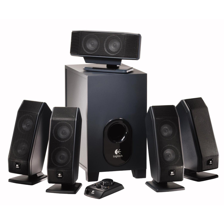 Logitech Z506 vs Logitech X-540: Multi Speaker Systems for